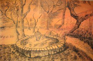 042-nach-Van-Gogh-Tusche