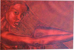 085-Afrikas-Schonheit-5-Tusche-und-Feder