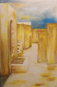 137-Marokko-Pastell